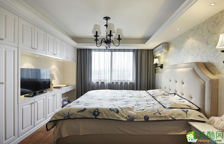 北城世纪城冠徽苑8万全包99平米美式风格