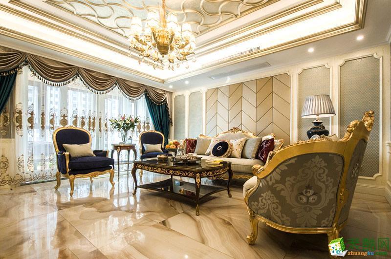 九木堂装饰/欧式风格/三室两厅