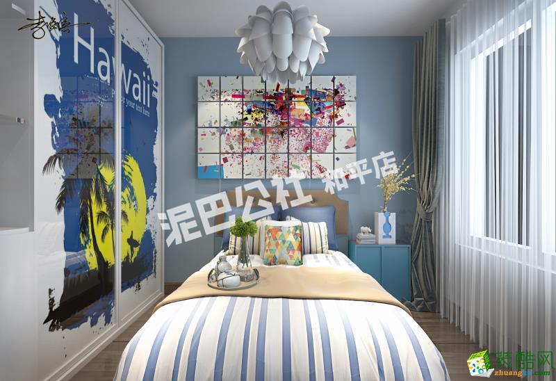 卧室  【泥巴公社】万科金域国际