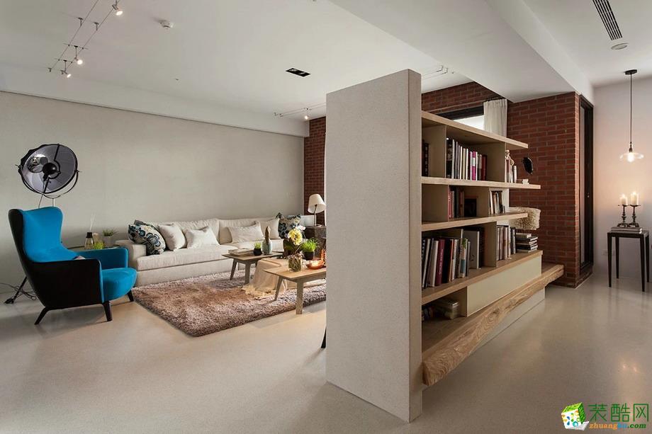 安耀建筑装饰/现代风格/两室两厅
