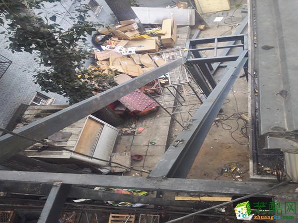 【三晉天元裝飾】消防樓梯制作安裝