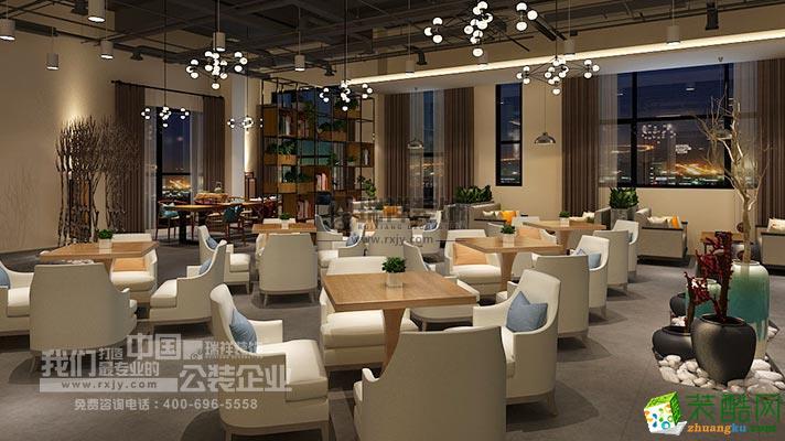468平米绿地茶楼装修设计