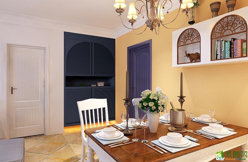 长沙点石家装-地中海两居室装修效果图