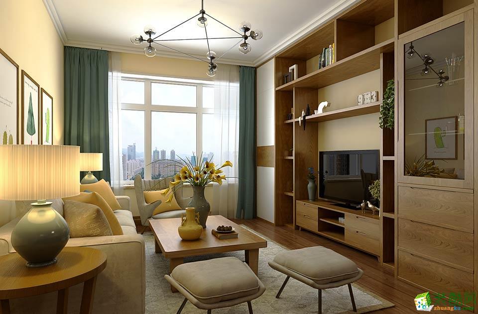 长沙�N远装饰-现代简约两居室装修效果图