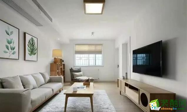 【墨染装饰】现代风格/两室两厅
