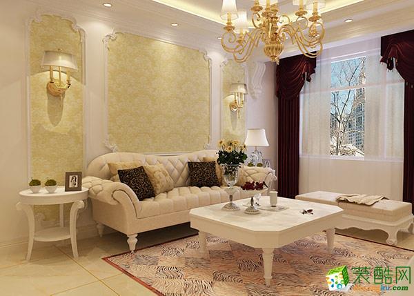 【墨染装饰】欧式风格/三室两厅