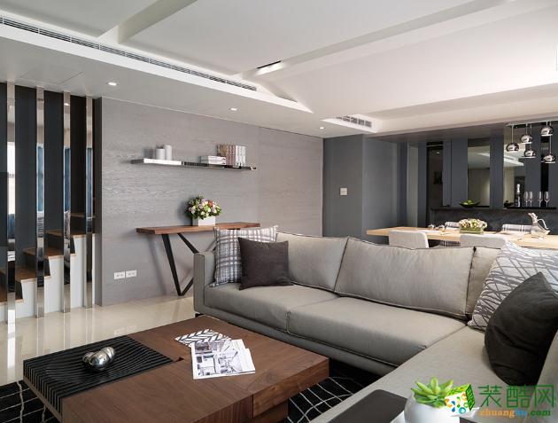 福州苹果装饰-132平米现代时尚风格四居室装修