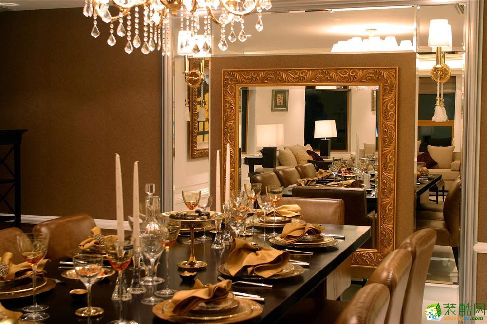 无锡尚城上品装饰-欧式四居室装修效果图