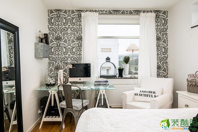 【富阳星艺】53�O北欧风格一居室装修效果图