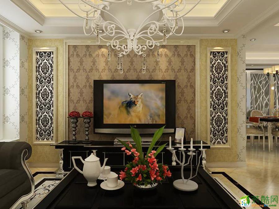 潮州华浔品味装饰-现代简约两居室装修效果图