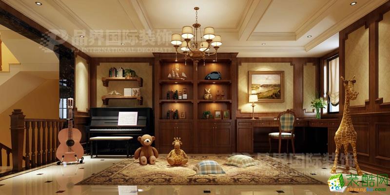 渝北别墅怎样装修 尊爵堡别墅美式风格设计图片