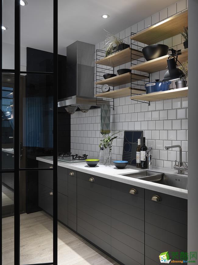 长沙鸿扬家装-北欧三居室装修效果图