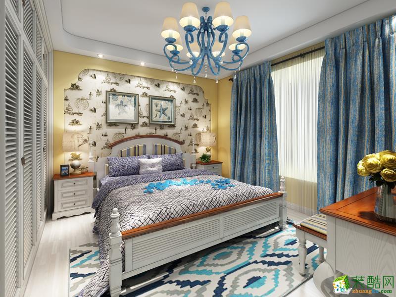 长沙鸿扬家装-地中海两居室装修效果图