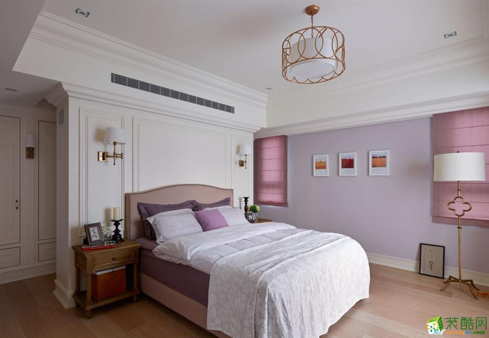 长沙金空间装饰-简欧三居室装修效果图