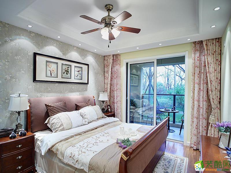 长沙金煌装饰-田园两居室装修效果图
