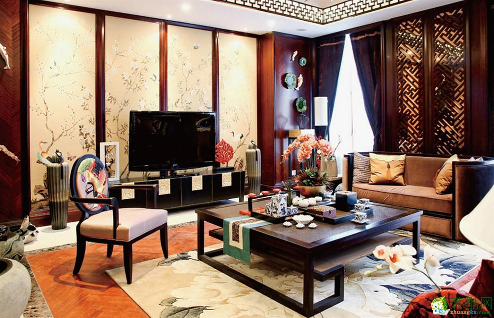 东顺装饰|绿地东上海|中式风格