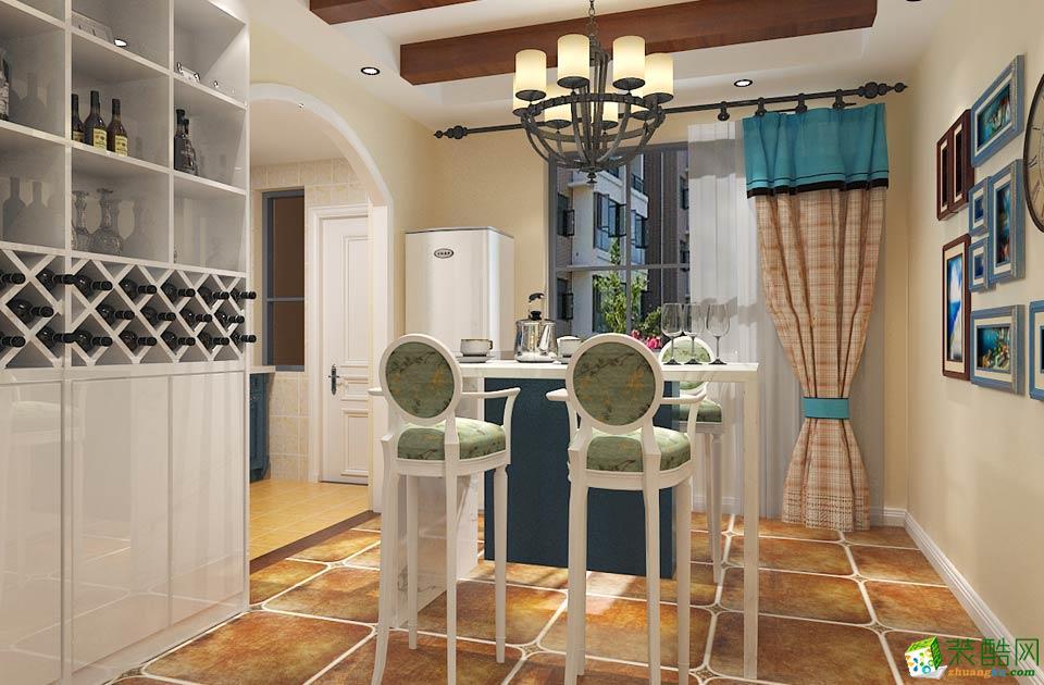 西安甲壳虫装饰-美式乡村两居室装修效果图
