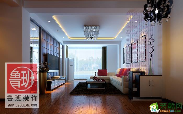 【鲁班装饰】现代简约/两室两厅