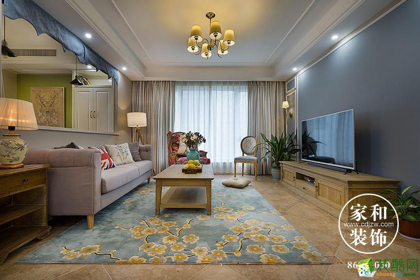 家和装饰|世茂玉锦湾|美式风格