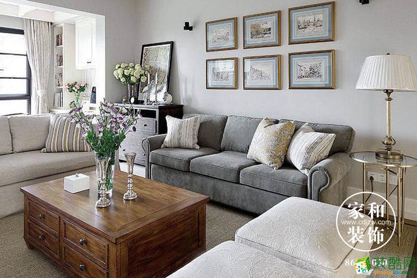 家和装饰|保利百合花园|美式风格