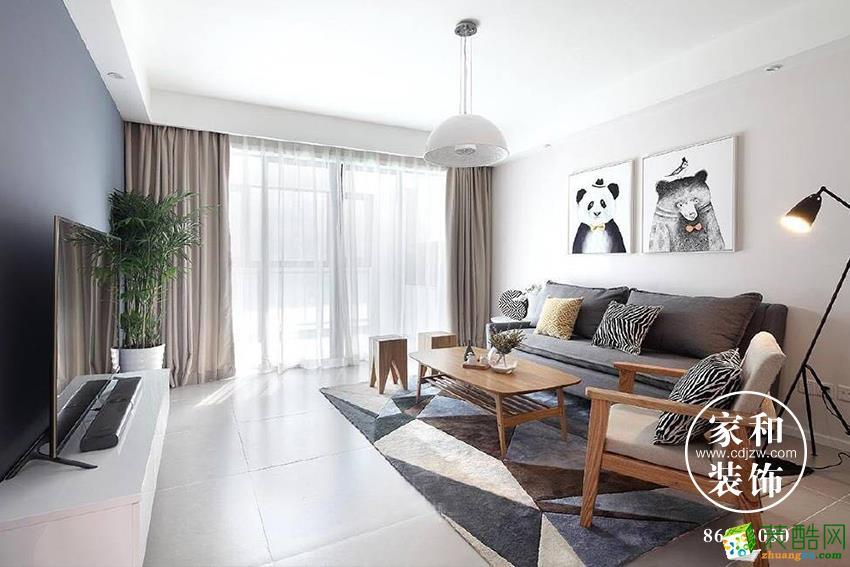 家和装饰|电建美立方|现代简约风格