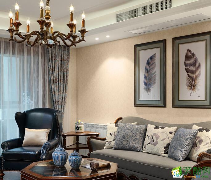 【精典装饰】美式风格/三室两厅