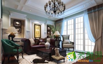 【精典装饰】美式风格/两室两厅