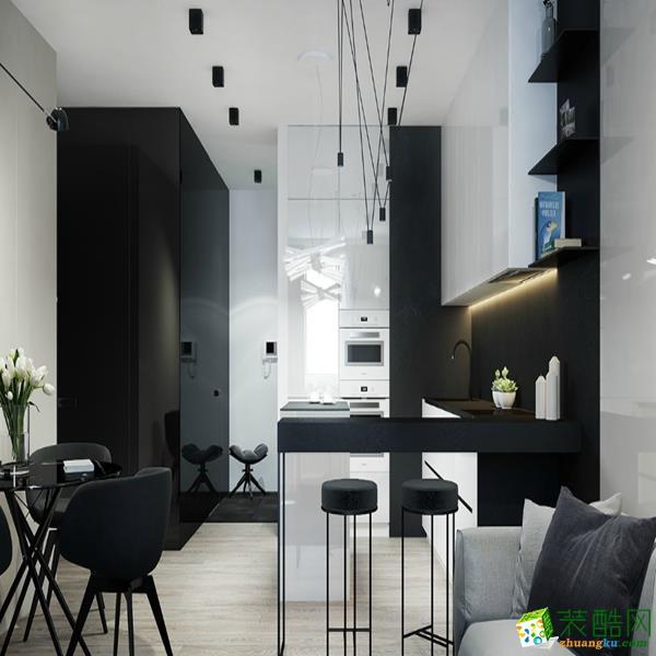 陕西峰光无限装饰工程有限责任公司-三室两厅一卫