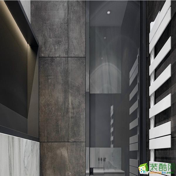 黑白灰的搭配运用,琴键装饰,无处不在的充满现代气息。