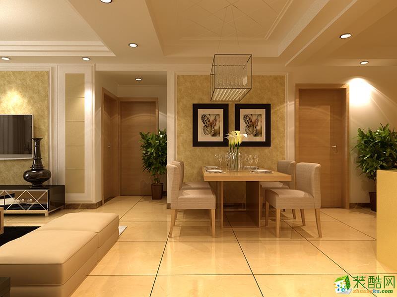 长沙名匠装饰-混搭三居室装修效果图