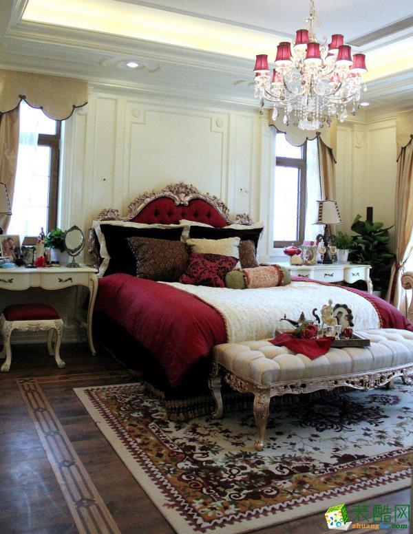 美式风格三室两厅16万全包108平