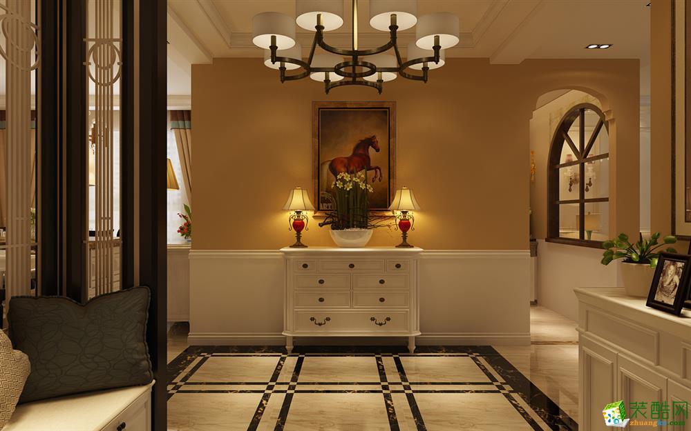 艺匠装饰―138�O欧式风格四居室装修效果图