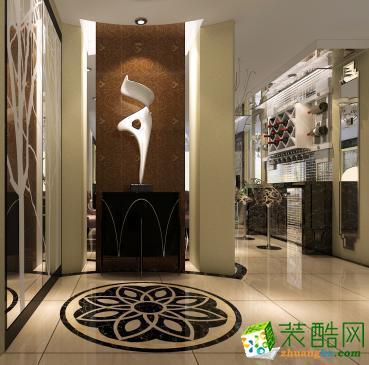 艾西装饰―126�O简欧风格三居室装修效果图