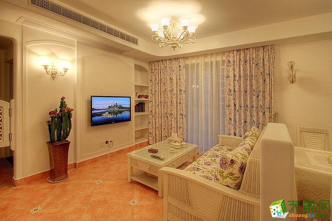 【红玛瑙装饰】联发瞰青|现代简约风格|三室两厅一卫
