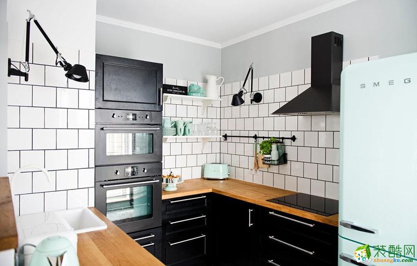 天元装饰―75�O美式风格两居室装修