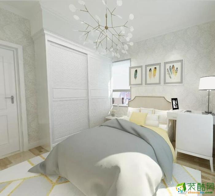 蜀云装饰―128�O现代风格三居室装修效果图