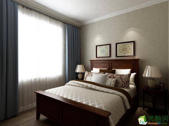德宏装饰―136�O小美风格三居室装修效果图