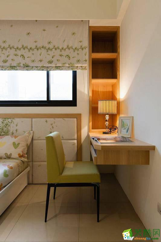 叠彩西城68平现代风格效果图赏析---卧室