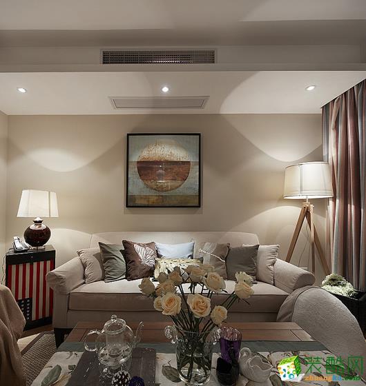 【川豪装饰】天府美岸|典雅风格70平米两居室