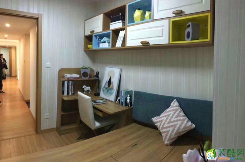 现代简约风格两室一厅80�O两居室装修效果图赏析---