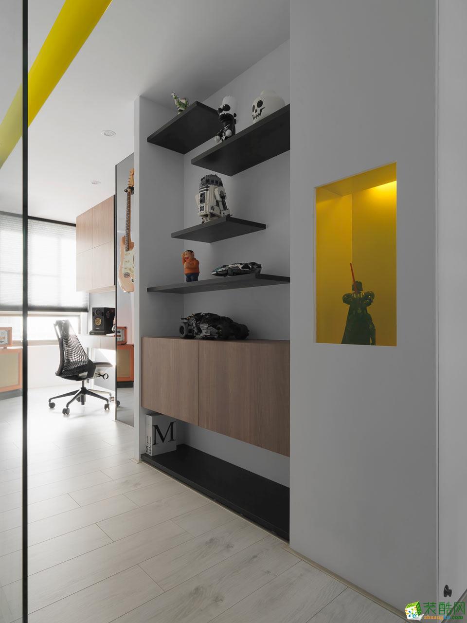 三室两厅 105平 日式风格 装修效果图