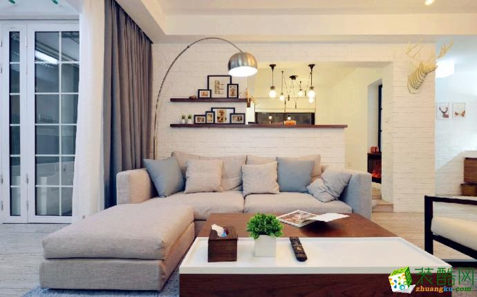 【戴维诺装饰】北欧风格|四室两厅