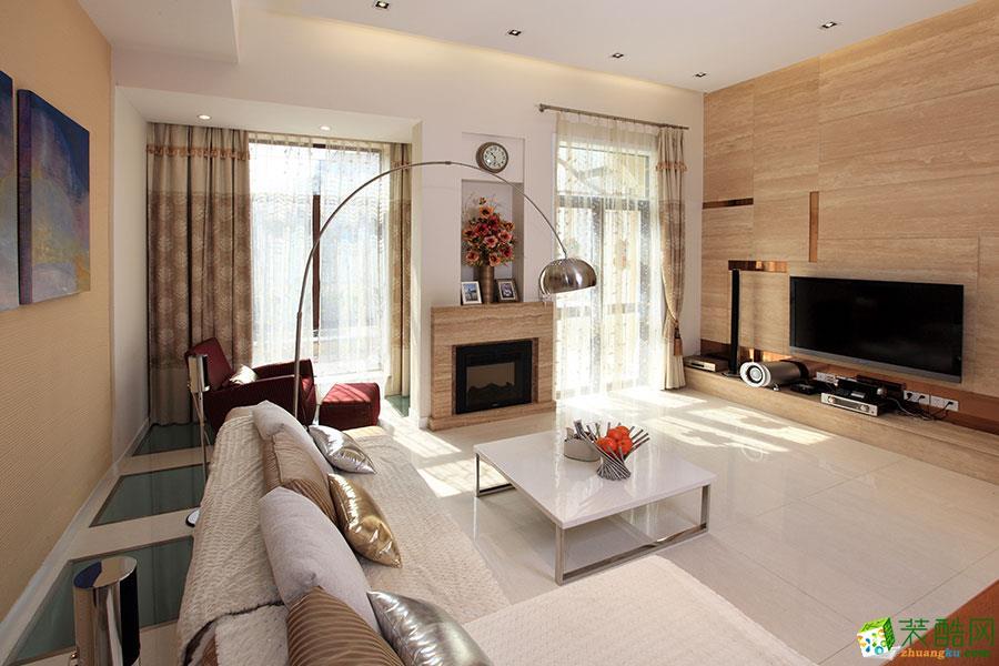 【龙发装饰】元益花园100平米现代风格两居室