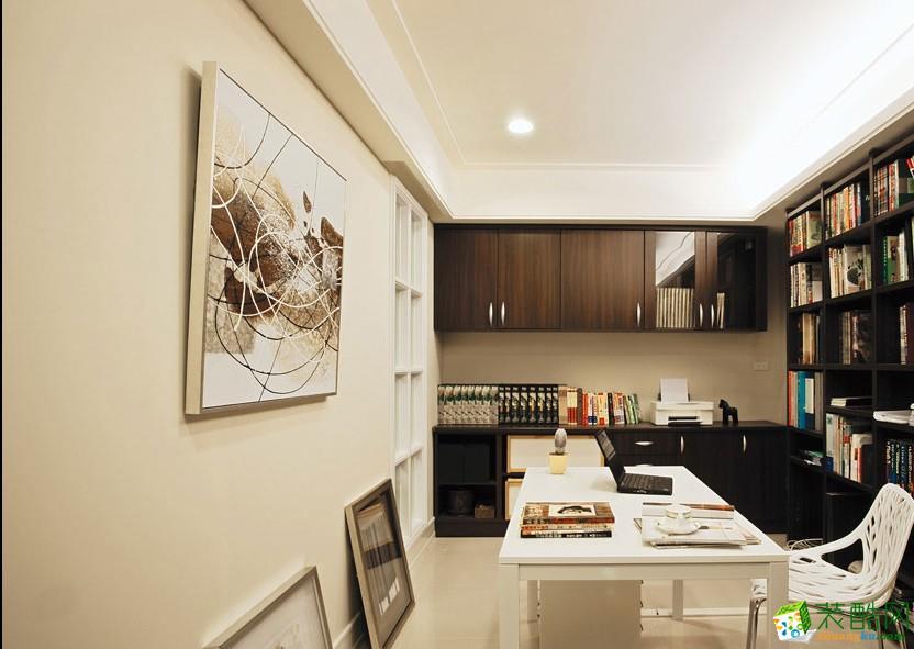 北欧两居室装修效果图-书房装修效果赏析