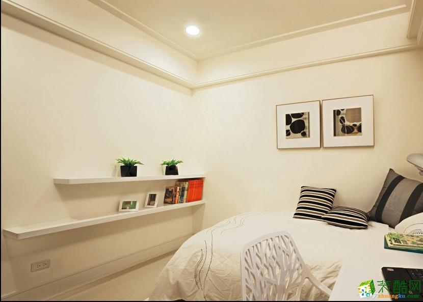 80平米北欧两居室装修效果图