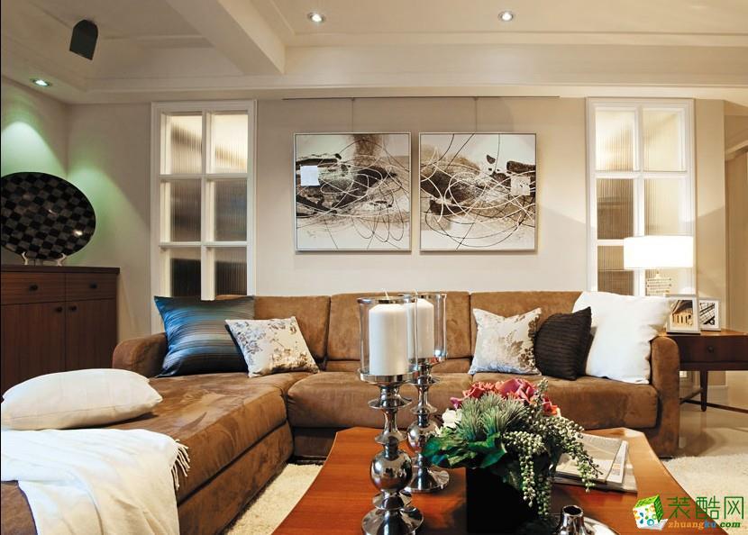 北欧两居室装修效果图-客厅装修效果赏析