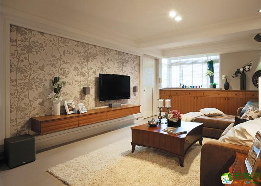 西安桐城装饰-北欧两居室装修效果图