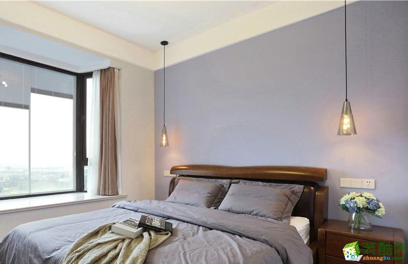 卧室 重庆二十四城装饰---保利爱尚里80平北欧风格效果图赏析。 【二十四城装饰】保利爱尚里80平北欧风格效果图