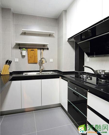 厨房 重庆二十四城装饰---保利爱尚里80平北欧风格效果图赏析。 【二十四城装饰】保利爱尚里80平北欧风格效果图