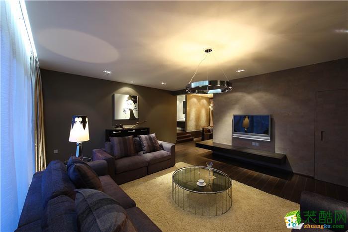 【深行装饰】万科渝园98平米现代风格三居室